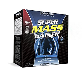 Фото 5 к товару Гейнер Dymatize Super Mass Gainer 12lb (5,44 кг)
