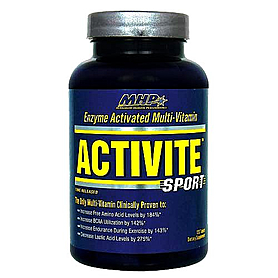 Фото 1 к товару Комплекс витаминов и минералов MHP Activite (120 таб)