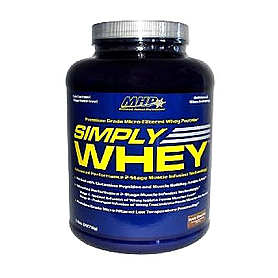 Фото 1 к товару Протеин MHP Simply Whey Vanilla 5 lbs (2,27 кг)