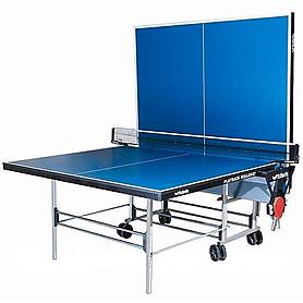 Фото 2 к товару Стол теннисный Butterfly Playback Indoor Rollaway (синий)