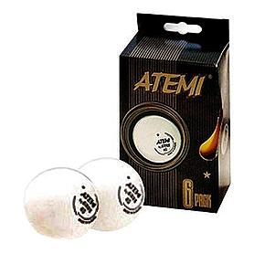 Фото 1 к товару Набор мячей для настольного тенниса Atemi* 4435721