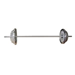 Штанга олимпийская наборная хромированная 120 кг