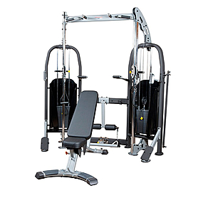 Фитнес станция Finnlo Free Trainer (со скамьей)