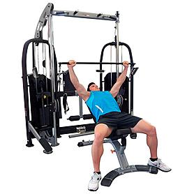 Фото 8 к товару Фитнес станция Finnlo Free Trainer (со скамьей)