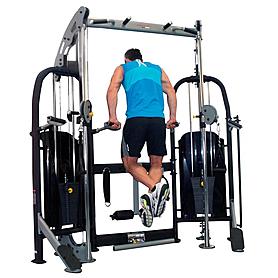 Фото 10 к товару Фитнес станция Finnlo Free Trainer (со скамьей)