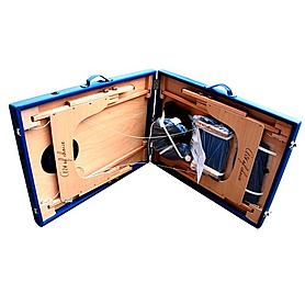 Фото 2 к товару Стол массажный портативный DEN Comfort Art of Choice синий