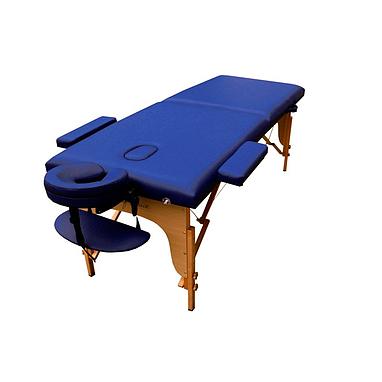 Стол массажный портативный TEO Art of Choice синий