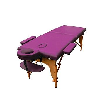 Стол массажный портативный TEO Art of Choice фиолетовый