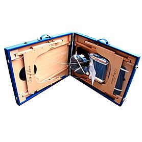 Фото 2 к товару Стол массажный портативный TEO Art of Choice синий
