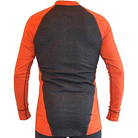 Фото 2 к товару Футболка мужская с длинным рукавом Destroyer Outdoor Trekking (серая/оранжевая)