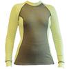 Футболка женская с длинным рукавом Destroyer Outdoor Trekking (зелено-желтая) - фото 1