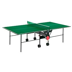 Фото 1 к товару Стол теннисный Sunflex Hobbyplay Indoor (зеленый)