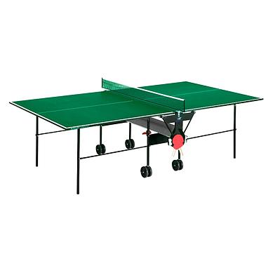 Стол теннисный Sunflex Hobbyplay Indoor (зеленый)