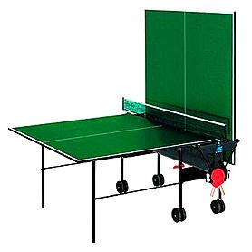 Фото 2 к товару Стол теннисный Sunflex Hobbyplay Indoor (зеленый)