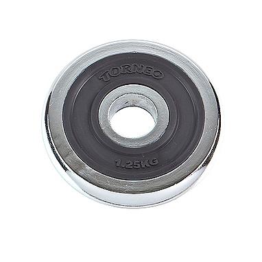 Диск хромированный 1,25 кг Torneo – 31 мм