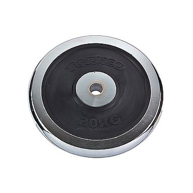 Диск хромированный 20 кг Torneo – 31 мм