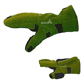 Перчатки–варежки отстегивающиеся Norfin (зеленые)