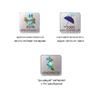 Варежки ветрозащитные с фиксаторами на запястьях Norfin - фото 2