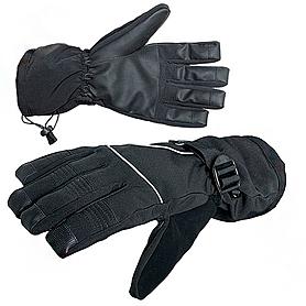 Фото 1 к товару Перчатки Norfin с фиксаторами на запястьях (черные с PU мембраной)