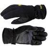 Перчатки Norfin (черные с PU мембраной) - фото 1