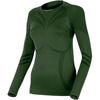 Термофутболка женская с длинным рукавом Lasting Julie (темно-зеленая) - фото 1