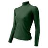 Термофутболка женская с длинным рукавом Lasting Sery (темно-зеленая) - фото 1