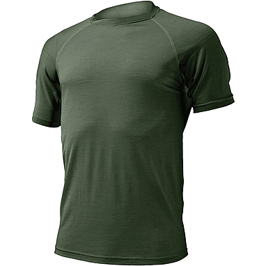 Термофутболка мужская Lasting Quido (темно-зеленая)