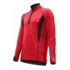 Термофутболка мужская с длинным рукавом Lasting Roman (красная/черная) - фото 1