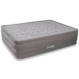 Кровать надувная ортопедическая двуспальная Intex Ultra Plush Bed (203х152х46 см)
