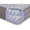 Кровать надувная ортопедическая двуспальная Intex Ultra Plush Bed (203х152х46 см) - фото 3