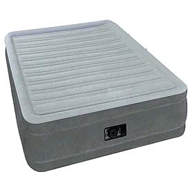 Кровать надувная ортопедическая односпальная Intex 64412 (191х99х46 см)