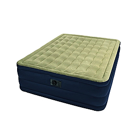 Фото 1 к товару Кровать надувная ортопедическая двухспальная Intex Ultra Plush Bed (203х152х46 см)