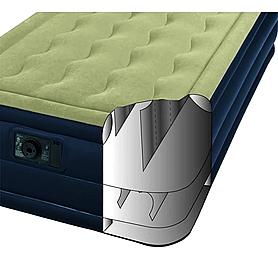 Фото 2 к товару Кровать надувная ортопедическая двухспальная Intex Ultra Plush Bed (203х152х46 см)