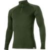 Термофутболка мужская с длинным рукавом Lasting Wezir (темно-зеленая) - фото 1
