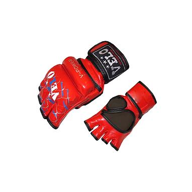Перчатки без пальцев кожаные Velo V-power