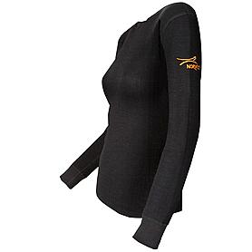 Фото 2 к товару Термофутболка женская с длинным рукавом Norveg Lady Classic (черная)