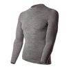 Термофутболка мужская с длинным рукавом Norveg Soft Shirt (серая меланж) - фото 1