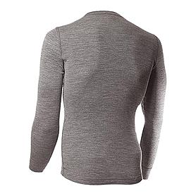 Фото 2 к товару Термофутболка мужская с длинным рукавом Norveg Soft Shirt (серая меланж)