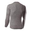 Термофутболка мужская с длинным рукавом Norveg Soft Shirt (серая меланж) - фото 2