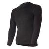 Термофутболка мужская с длинным рукавом Norveg Soft Shirt (черная) - фото 1