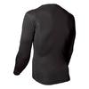 Термофутболка мужская с длинным рукавом Norveg Soft Shirt (черная) - фото 2