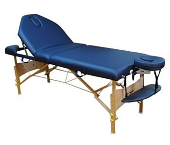 Стол массажный Life Gear Beatrix синий