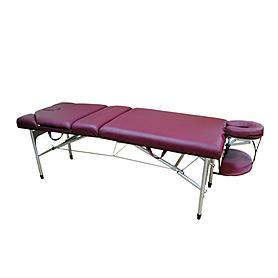 Фото 2 к товару Стол массажный Life Gear Blanche вишневый