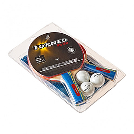 Набор для настольного тенниса Torneo Invite Competition* (2 ракетки, 1 сетка, 3 мяча)