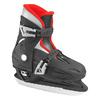 Коньки детские раздвижные Roces Kids adjustable Ice skates (черно-красные) - фото 1