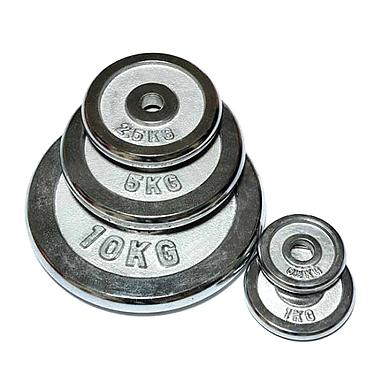 Диск хромированный 10 кг FitLogic – 26 мм