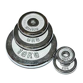 Диск хромированный 5 кг FitLogic – 26 мм