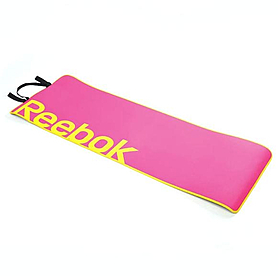 Коврик для фитнеса Reebok розовый 6 мм