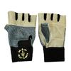 Перчатки без пальцев Gold Gym с сеткой - фото 1