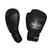 Перчатки боксерские кожаные Green Hill Punch2 черные - фото 1
